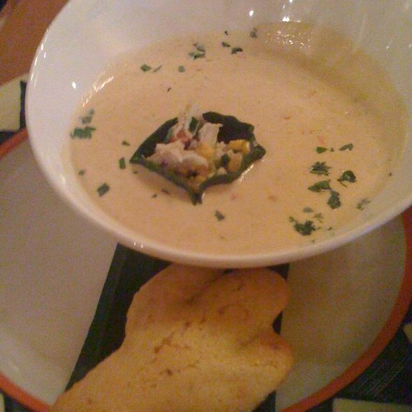 Corn, Crab & Poblano Soup @ Coyote Blues International LLC