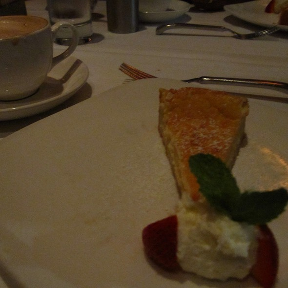 Ricotta Cheesecake - Toscano Restaurant, Boston, MA