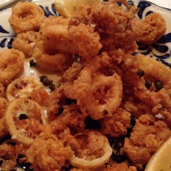 Fried Calamari - Mama Della's Ristorante at Loews Portofino Bay Hotel, Orlando, FL