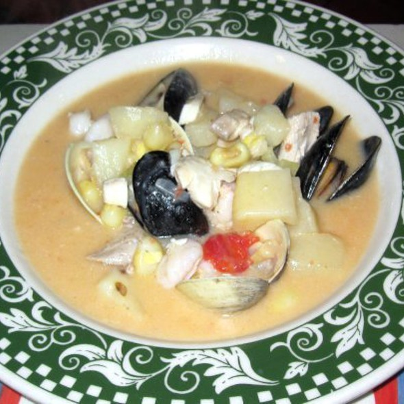 Seafood Chowder @ Painters'
