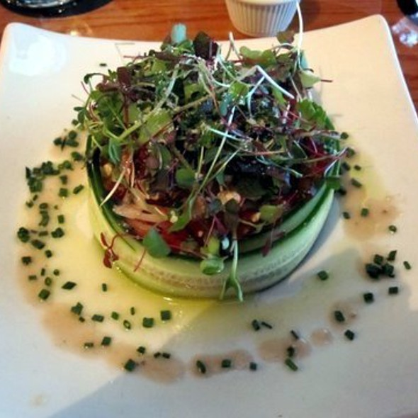 Heirloom Tomato Salad @ PeraBell Food Bar