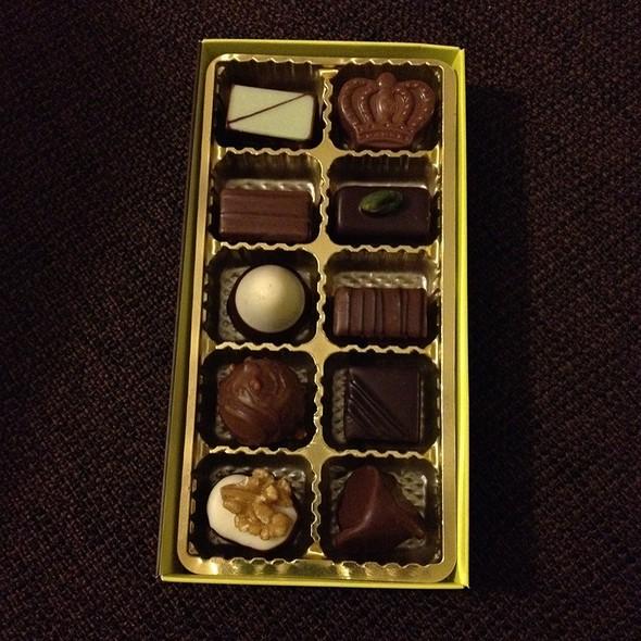 Chocolate @ Pâtisserie Oberweis
