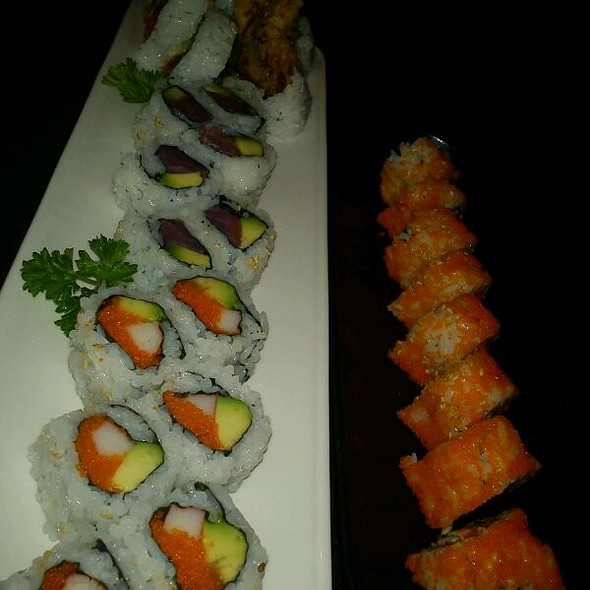 Happy Hour Sushi Rolls @ Konami Restaurant