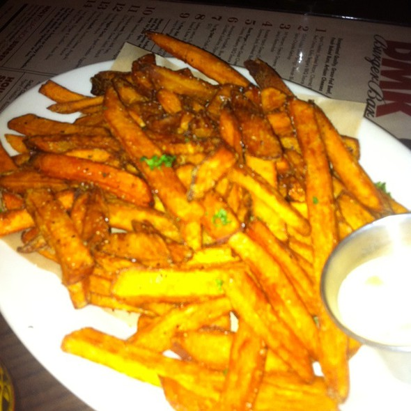 Sweet potato fries @ DMK Burger Bar