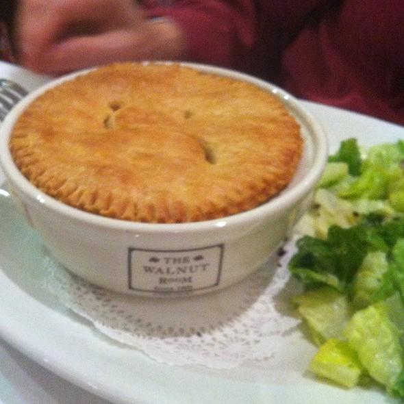 Chicken Pot Pie Original Marshall Field's Recipe - The Walnut Room - Chicago, Chicago, IL