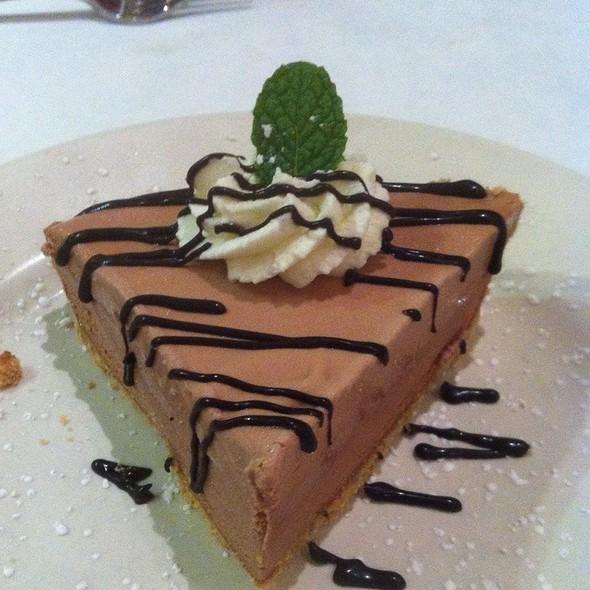 Frozen Frango Mint Chocolate Pie - The Walnut Room - Chicago, Chicago, IL
