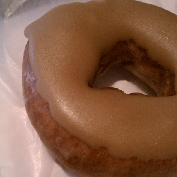 Grapefruit And Brown Sugar Donut @ Federal Donuts