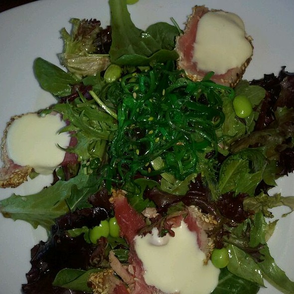 Seared Ahi Tuna Salad @ Zen Restaurant