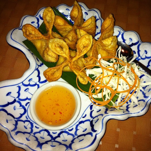 Crab Wontons @ Best Thai Restaurant