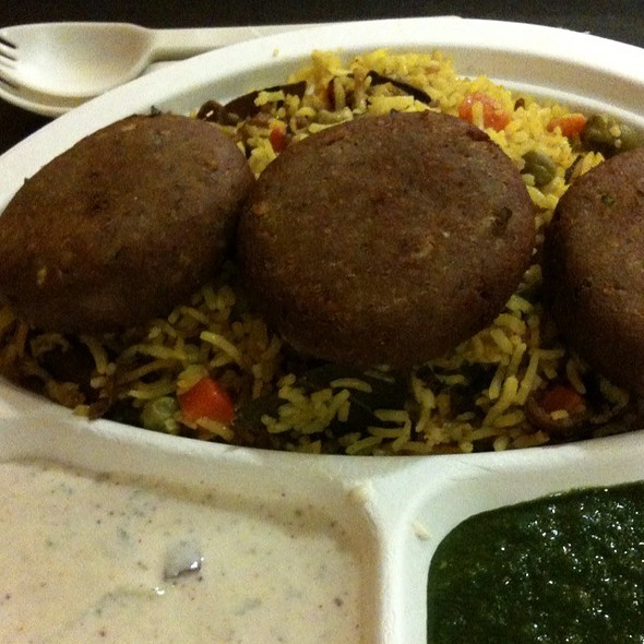 Shami Kebab @ Vik's Chaat Corner