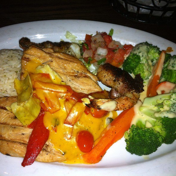 Chicken And Shrimp Special @ Escalante's Mexican Grill