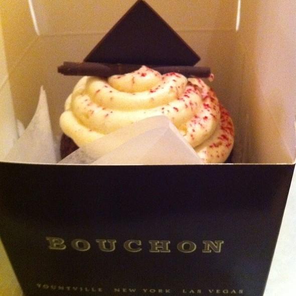 Giant Red Velvet Cupcake @ Bouchon