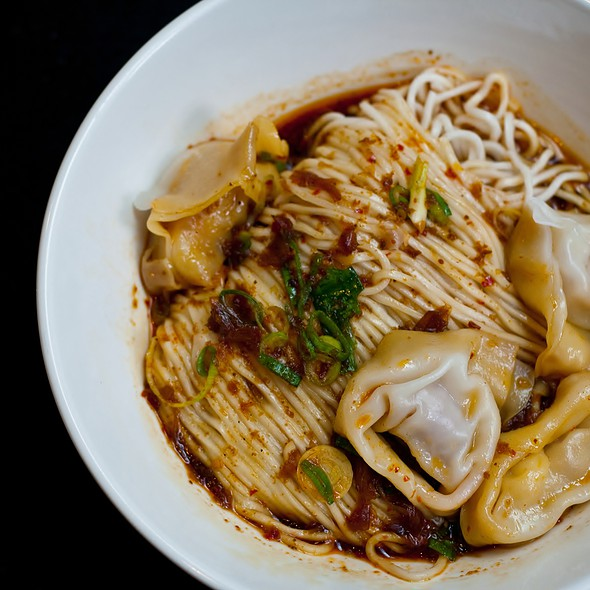 Pork & Prawn Wonton Noodle In Spicy Sauce