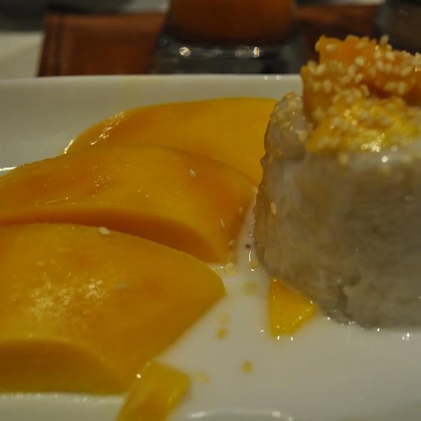 Fresh Mango with Sticky Rice @ Thai Patio