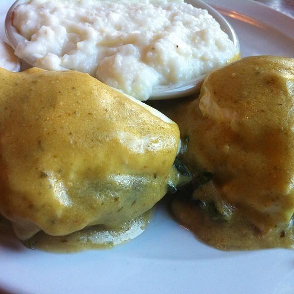 Portabello Mushroom Eggs Benedict - Kitchen Bar, Abington, PA