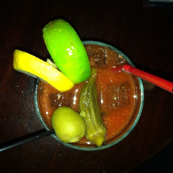creole bloody mary @ Khyber Pass Pub