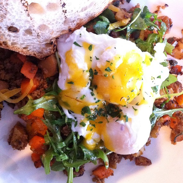 Turkey Sausage Hash @ Slow Club