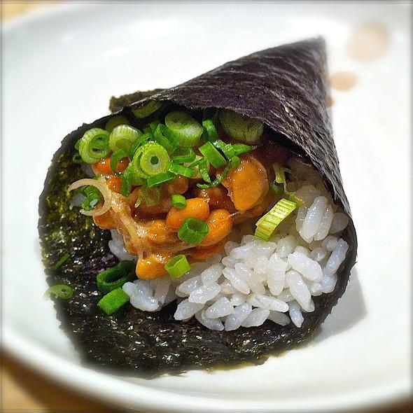 Natto Handroll @ Sushi Tei @ NEX