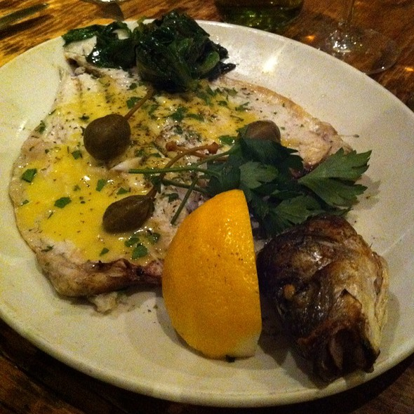 Grilled Loup De Mer - Avra Estiatorio on 48th, New York, NY