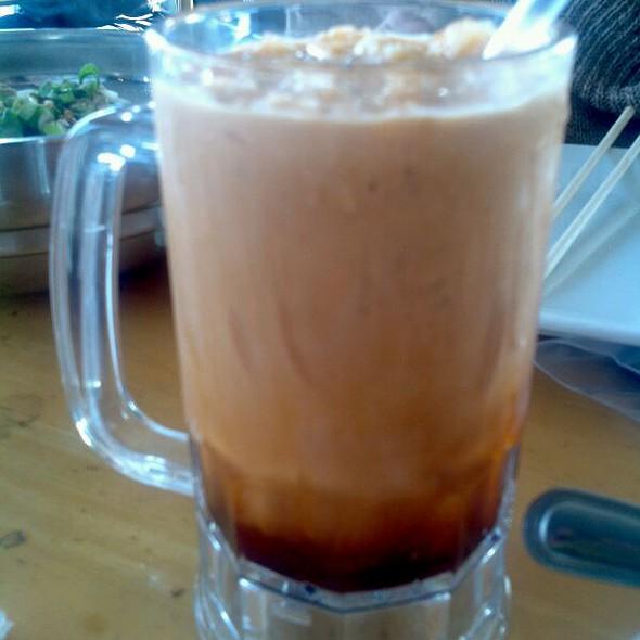 Thai Iced Tea Milk At Thai Patio Hollywood