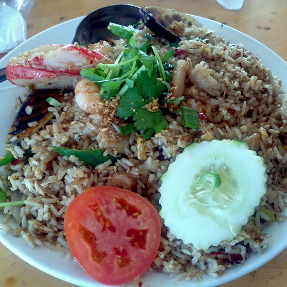 Thai Seafood Fried Rice At Thai Patio Hollywood
