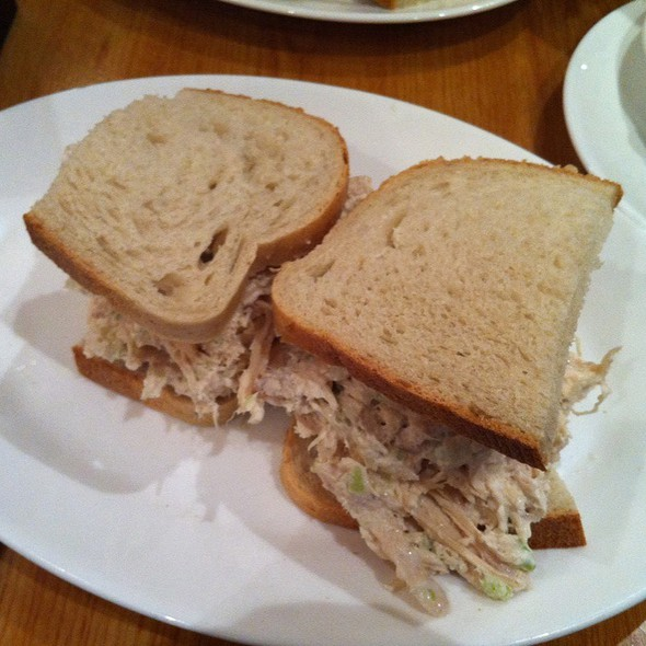Chicken Salad Sandwich @ Carnegie Deli