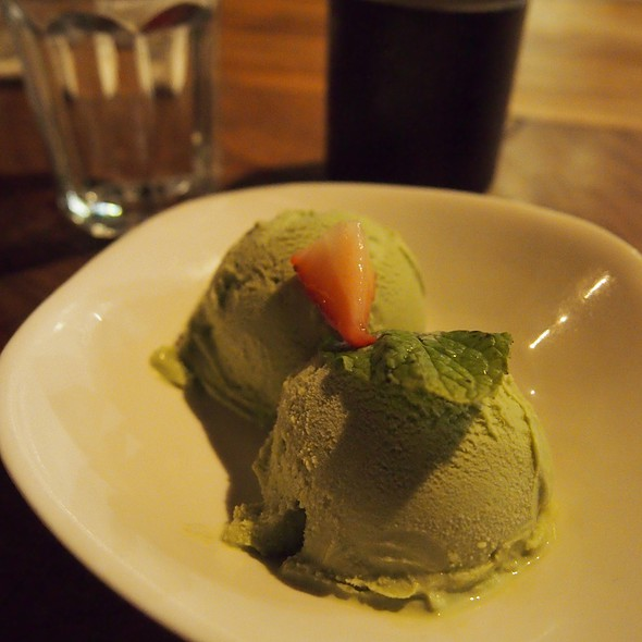 Green Tea Ice Cream @ Ippudo