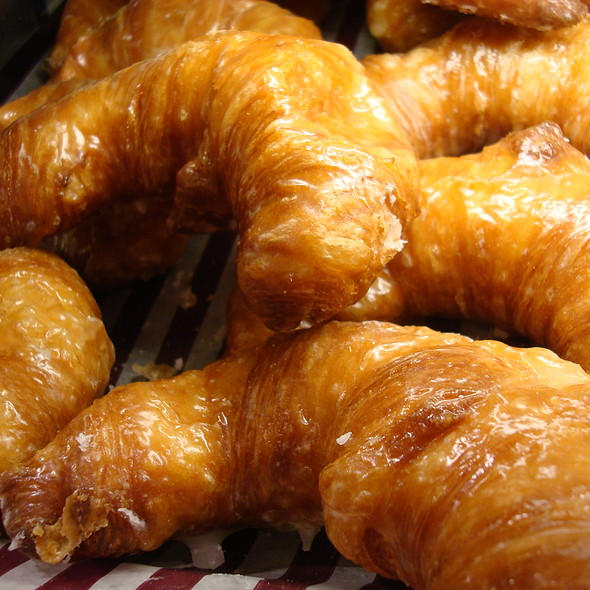 Croissant Donut @ Loblaws Maple Leaf Gardens