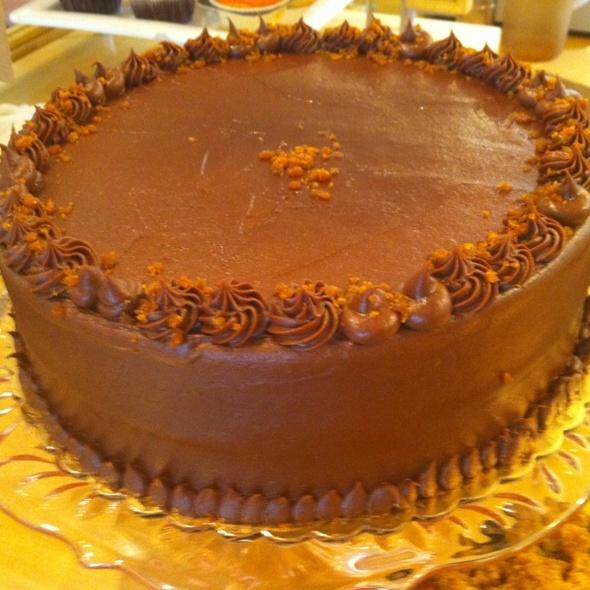 Chocolate Cake @ One Girl Cookies