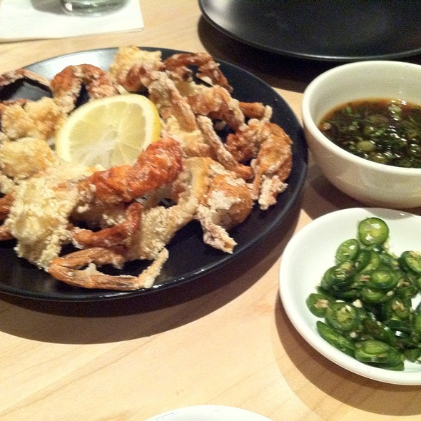 Soft Shell Crab @ Sushi Zushi