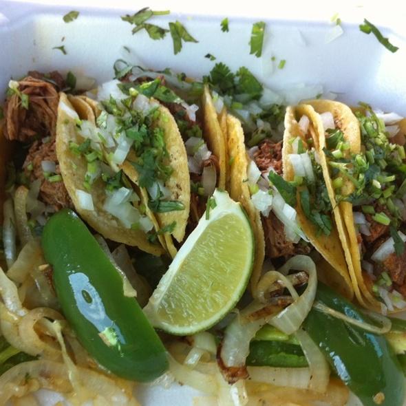 Barbacoa Tacos @ Taqueria Jalisco San Juan