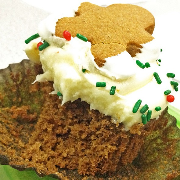 Gingerbread Cupcake @ My Delight CupCakery
