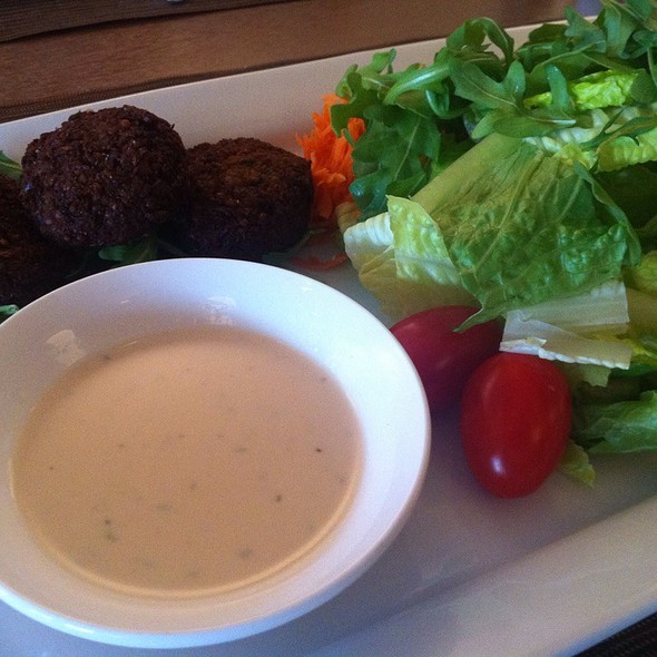 Falafel Salad - The Putterham Grille, Chestnut Hill, MA
