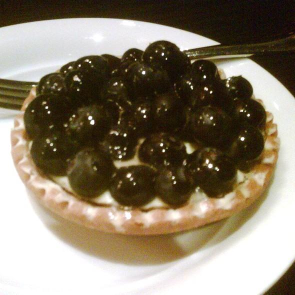 blueberry tart @ Jones the Grocer