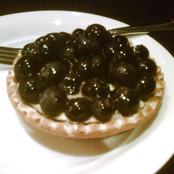 blueberry tart @ Jones the Grocer