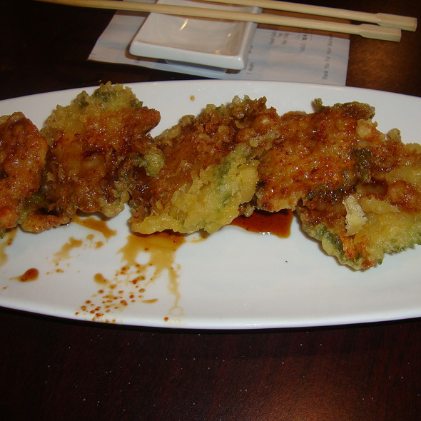 Tempura Shrimp Patties @ Osaka Japanese Restaurant