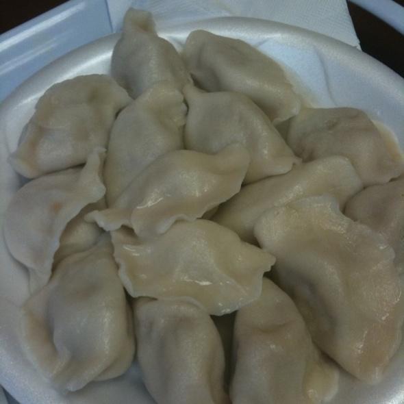 Cabbage & Pork Dumpling @ Jack Yan's Restaurant