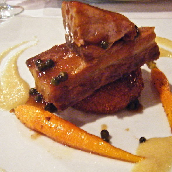 Salt-Cured Slow Cooked Pork Belly @ Majors Lane