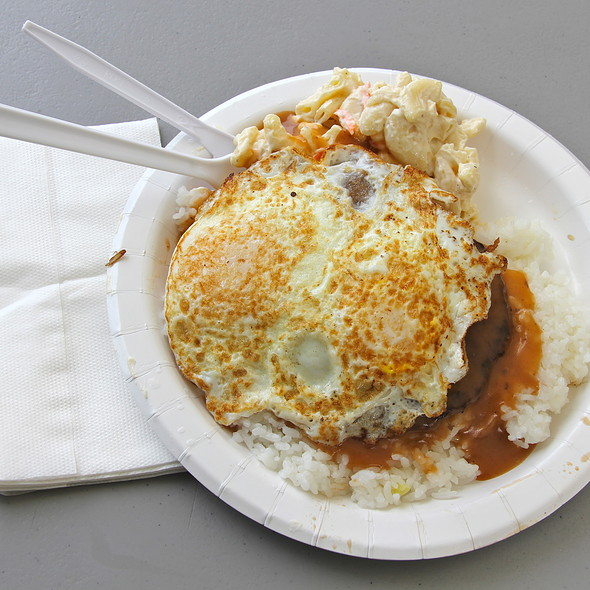 Loco Moco @ Rainbow Drive-In