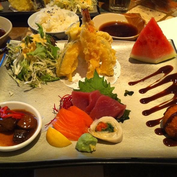 Sashimi bento box @ Osho Sushi