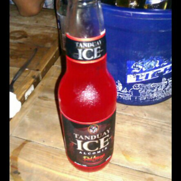 Tanduay Ice Red Mirage @ Central Bar and Grill
