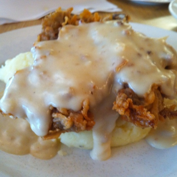 Chicken Fried Ostrich - Ray's Grill, Fulshear, TX