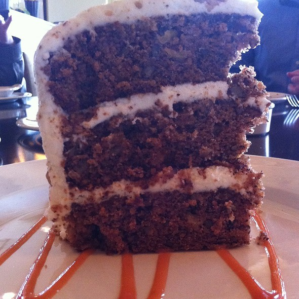 Spiced Hummingbird Cake - Bistro By The Tracks, Knoxville, TN