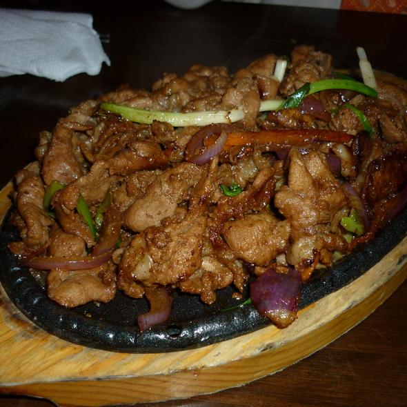 Bulgogi @ Restaurante coreano Manna