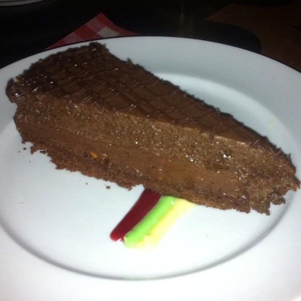 Nutella cake @ Spago Itaim