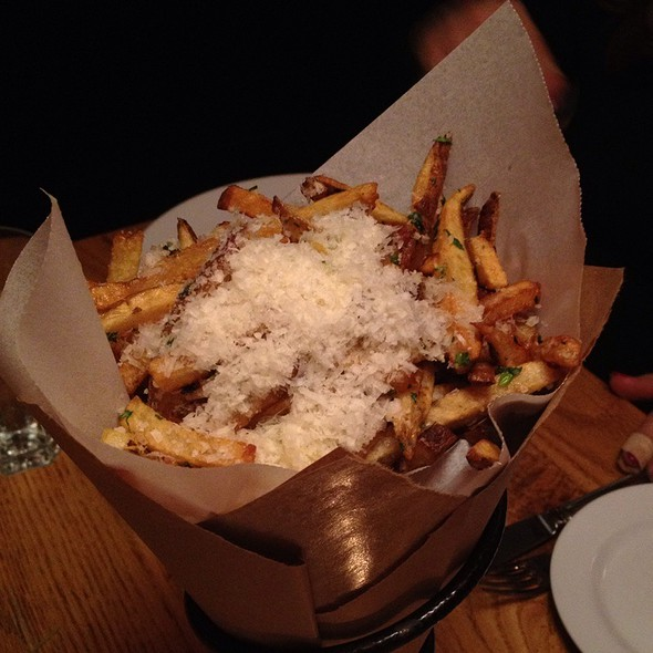 truffle fries with parmesan @ Ajax Tavern