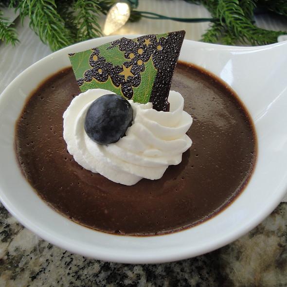 Dark Chocolate Pudding @ Hoku's