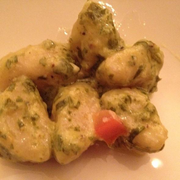 Roasted Garlic Gnocchi With Arugula Pesto - Trio Rhode Island, Narragansett, RI