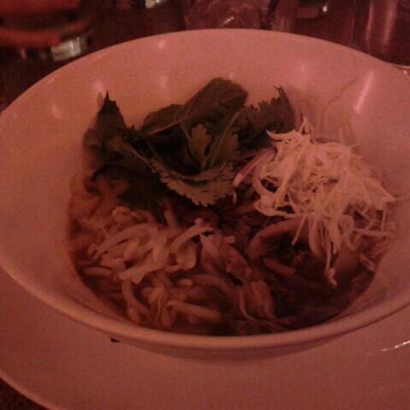 Beef brisket noodle soup @ Ma Peche