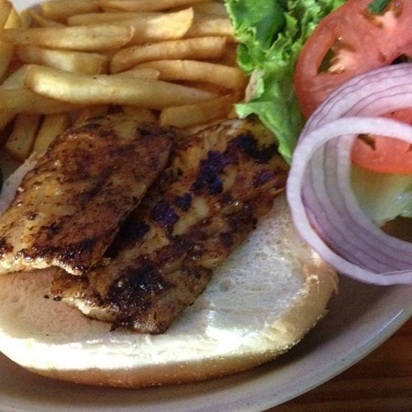 Blackened Cod Sandwich @ The Ocala Ale House